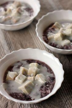 Taro & Sticky Rice with Coconut Cream