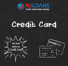 Credit Card - Ruloans Compare Online & Apply for the best & lowest interest rates on  credit card deals! For more details visit - https://www.ruloans.com/credit-card