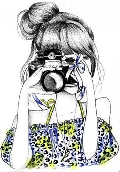 Girl with camera #Portrait http://angiie52.deviantart.com/art/Munequita-Png-By-AngiieEdittion-346318490