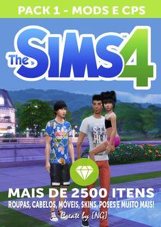 Nathys Sims: Pack 1 - Mods e Cps [NG]