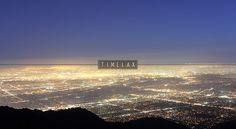 Panoramic view of Los Angeles from Mount Wilson