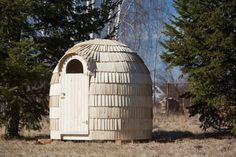 Nouveauté 2015 !! Un igloo ! pour le sauna, pour wc sec pour de l'hébergement etc... un merveilleux produit ultra-rustique et typique