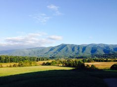 Cade's Cove - I have ancestors buried in this cove.
