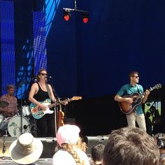 Kathleen Edwards at Luminato, June 16 - Tweeted by @mikeozz