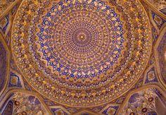 Registan (ریگستان) , Samarkand (Samarqand, Самарқанд, سمرقند), Uzbekistan (O'zbekiston, Ўзбекистон) by Loïc BROHARD, via Flickr