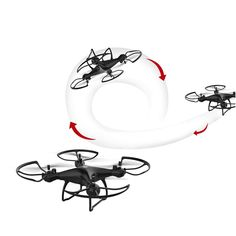 WHWYY RC Drone for Beginners Drone with 4K FPV HD Camera//Video 2.4G 6-Axis RC Quadcopter with Gravity Induction Headless Mode Altitude One Key Return Track Flight 3D Flips and Rolls Toys