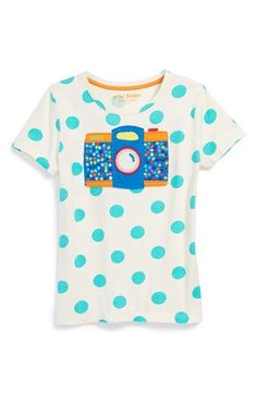 Mini Boden 'Twinkly' Appliqué Tee (Toddler Girls, Little Girls & Big Girls) available at #Nordstrom