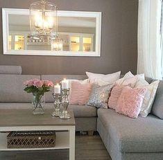 45 best blush and grey living room images home decor houses rh pinterest com