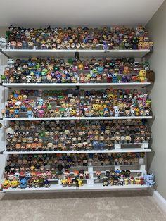 90 of my collection : funkopop Funko Pop Shelves, Funko Pop Display, Stranger Things Funko Pop, Funko Pop Dolls, Funko Toys, Funk Pop, Disney Rooms, Disney Pop, Pop Toys