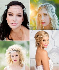 Where To Find Boho Bridal Headpieces Hair Chainheadpiece