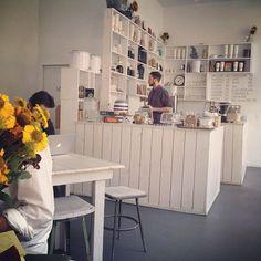 cafeteria + simplicidad + colores