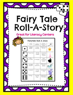 Fairy Tale Day Roll-A-Story! - This Fairy Tale themed Roll-A-Story will have your students engaged and having fun as they roll a dice to determine the setting, character and problem of their Mother's Day themed story Fairy Tale Activities, Dr Seuss Activities, Writing Activities, Story Dice, Roll A Story, Narrative Writing, Writing Prompts, Read Write Inc, Fairy Tales Unit