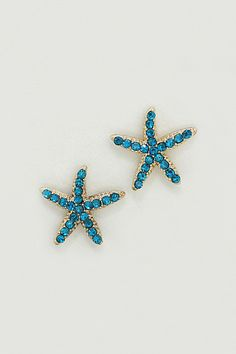 Starfish Earrings ==