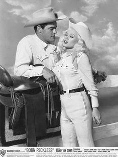 Old Hollywood Glam, Golden Age Of Hollywood, Classic Hollywood, Mamie Van Doren, Jack Warner, Vintage Western Wear, George Burns, Diana Dors, Movies