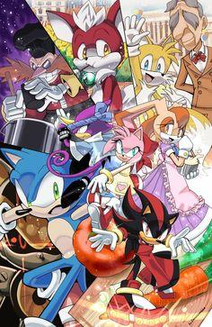 Increible Dibujo de Sonic CC'S