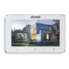 """Внутренний монитор Satvision SVM-IP700M SVM-IP700M 7"""" Цветной IP видеодомофон, TFT LED монитор Hand Free, PAL/NTSC, разрешение записи 720р, 25 к/с, двусторонняя связь с устройствами, открытие замка с мобильного устройства, запись фото/видео, поддержка SD-карт до 32GB, цвет корпуса белый/черный, настенное крепление в комплекте, потребляемая мощность 600 мА, температура эксплуатации -10° +50°C, габаритные размеры 124(В) × 194(Д) × 18(Ш) мм.Технические характеристики…"""