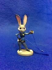 Disney's Zootopia Judy Hopps Police Bunny Cop PVC Christmas Ornament