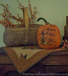 Autumn Splendor Quilt Block - LAST ONE!