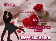 Send a Cozy,Warm,Cute Hug to your sweetheart because its #HugMonth. www.123greetings.com