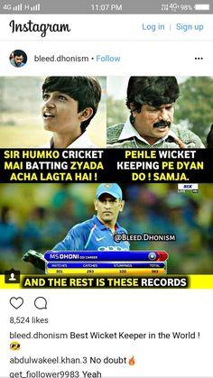 Cricket Sport, Cricket News, Puns Jokes, Funny Puns, Unique Facts, Fun Facts, Crickets Meme, Dhoni Quotes, Ms Dhoni Wallpapers