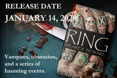 Bookmark Please login to bookmarkRing's release date is being pushed out one more month, to January 14, 2020. But on the up side, I plan on running a giveaway where the winners will get a free copy of Ring: Wearer Beware. I'll post it soon! The post Ring's New Release Date – Jan. 14, 2020 appeared first on Connie Myres - Feather and Fermion Publishing.