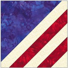 Sewing Block Quilts Name: 'Quilting : American Flag Quilt Block Pattern - Quilt Patterns Free, Pattern Blocks, Sewing Patterns, Pattern Ideas, Quilting Projects, Quilting Designs, Quilting Ideas, Quilting Tutorials, Sewing Projects