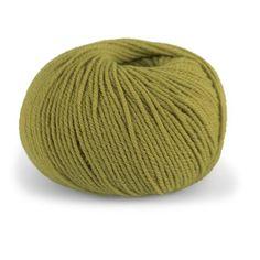 Dale Garn Pure Eco Wool Ekologisk Ullmix 50 g 50 g Vårgrön 1223