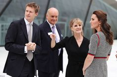 Kate will be shown around the new exhibition space and introduced to people involved with the project