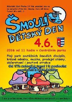 DEN DĚTÍ aneb VÍTEJTE VE ŠMOULÍ VESNIČCE - www.webtrziste.cz
