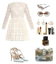 """""""Valentino , Chopard & YSL"""" by asma23sg on Polyvore featuring mode, Valentino, Chopard et Yves Saint Laurent"""