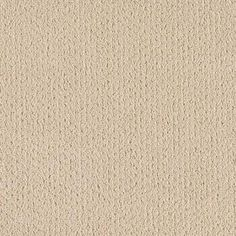 Carpet Sample - Spirewell - Color Parchment Pattern 8 in. x 8 in.