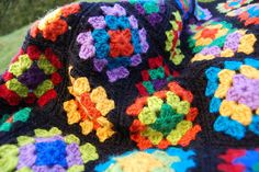 Colourful Granny Squares  :)
