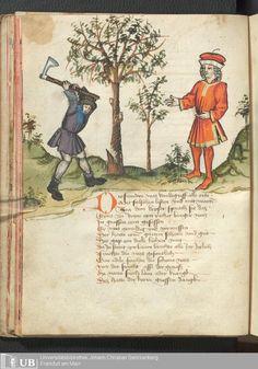 32 [14v] - Ms. germ. qu. 12 - Die sieben weisen Meister - Page - Mittelalterliche Handschriften - Digitale Sammlungen 1471