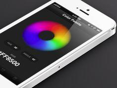 Color palette UI