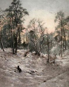 Shortening Winter Day Near Close ~ Joseph Farquharson