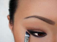 experiment & change the way you use your angled brush. Winged Liner, Experiment, Angles, Australia, Change, Beauty, Instagram