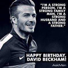 Happy Birthday David Beckham! #DavidBeckham #Soccer #Football #PSG