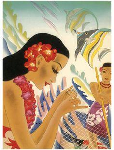 Shop Tiki Tropical Lei Hawaiian Luau party INVITATON Invitation created by layooper. Personalize it with photos & text or purchase as is! Hawaiian Girls, Hawaiian Luau Party, Hawaiian Art, Vintage Hawaiian, Vintage Tiki, Vintage Travel, Vintage Ads, Kitsch, Sweet Sixteen Invitations