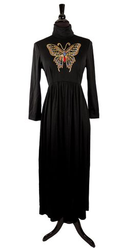 Vintage 1970's Bohemian Papillon Maxi Dress / by TheHoneyWitch