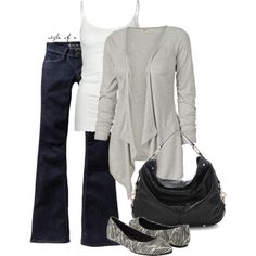 For a cool day, created by styleofe on Polyvore