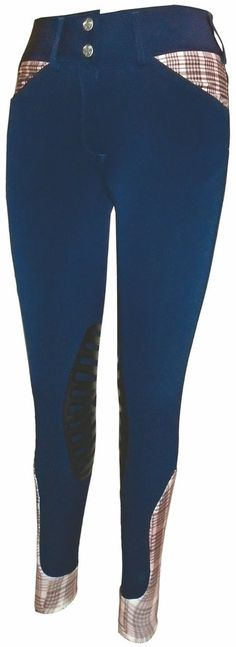 Equine Couture Baker Pro Knee Patch Breech