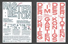 Lovely updates from graphic design studio Bureau David Voss.