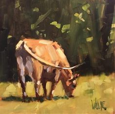 This is an Art Specific and Friendly DPW Auction. Farm Paintings, Animal Paintings, Animal Drawings, Impressionist Paintings, Cow Pictures, Cow Painting, Cow Art, Country Art, Fine Art Gallery