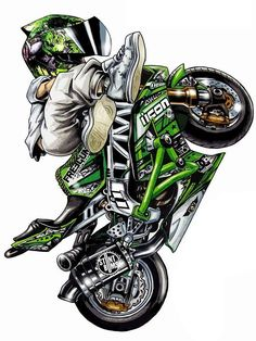 Pin by darnell on cars and motorcycles Motorcycle Posters, Motorcycle Art, Stunt Bike, Bike Pic, Moto Bike, Sportbikes, Wheeling, Sport Cars, Sport Sport