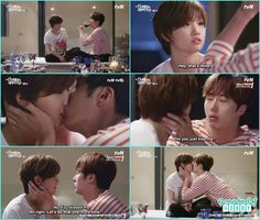 ha won and ji won kiss after drinking at vacation house - Cinderella and Four…