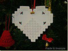 Hardanger Christmas Ornament
