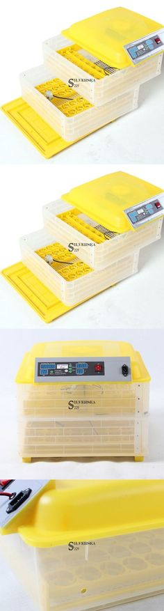 Incubators 46292: 96 Eggs Automatic Incubator Poultry Hatcher Chicken Goose Quail Egg Incubator Us BUY IT NOW ONLY: $89.82