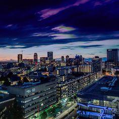 Day into Night!  #Rotterdam #Gersmagazine #Instawalk010 #Rottergram010 #GemeenteRotterdam #RTVRijmond #Dutch #Holland #Nethelands #Loves_Netherlands #Dutch_Connection #Wonderful_Holland #Super_Holland #IgersHolland #IGHolland #roffurban #rotturban
