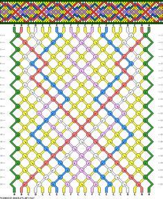 20 strings 22 rows 6 colors