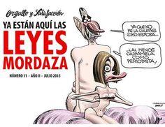 """""""Orgullo y Satisfacción"""" desafía a la Ley Mordaza con los Reyes Felipe y Letizia desnudos en portada - Los Replicantes"""